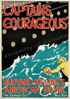 Captains Courageous Vintage advertisement print poster, 4 sizes available