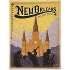 New Orleans Louisiana Metal Sign