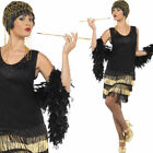Ladies Flapper Fancy Dress Costume – 1920s / 20s / Twenties Gangster Outfit