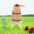MAXTRA Fruit Press,Cider Wine Press, Apple Press, Grape Press, Oak Wood basket
