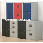 Bisley Filing Cabinet 2 Draw Coloured © OFFICE STAR