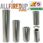 Twin Wall insulated Flue Pipe systems 4  wood burning stove stoves log burners
