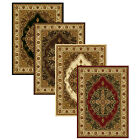 "Medallion Area Rug 8x11 Oriental Border Persian Carpet  - Actual  7' 8"" x 10 '4"""