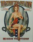 DIXIE REBEL SOUTH WILL RISE AGAIN REDNECK @ CRACK OF DAWN HOT GIRL SHIRT #1972
