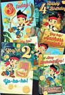 JAKE and the NEVER LAND PIRATES ~ Disney ~ OFFICIAL ~ Birthday card or Wrap