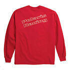 OEM Polaris Men's Long Sleeved Red Polaris Racing Momentum T-Shirt Sizes M-XL