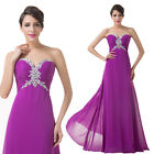 GK Sequins Wedding Bridesmaid Long Formal Evening Prom Gown Party Cocktail Dress