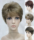 New (7 colors) Short Curly Women Female Lady Hair Full Wig / Perruque D#E-LINDA