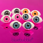 FUNKY EVIL EYE BALL EARRINGS KITSCH PUNK ROCK GOTH EMO SCARY HALLOWEEN DRESS UP