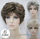 New (6 colors) Short Curly Women Female Lady Hair Wig Perruque  D#L-3041