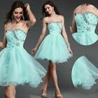 Bridesmaid Sequins Ball Gowns Formal Evening Formal Short Prom Dresses Wedding