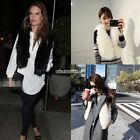 Womens Winter Warm Faux Fur Short  Vest Jacket Coat Waistcoat Hot Fashion