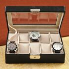 Leather Personalized Monogram Mens Jewelry Box Watch Case