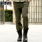 New Men's Combat Outdoor Jungle Military Army Cargo Pants Camouflage Trousers