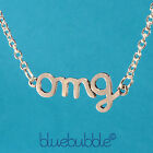 FUNKY VINTAGE STYLE WORD NECKLACE CUTE KITSCH RETRO SWEET FUN COOL TXT FESTIVAL