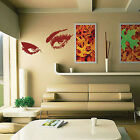 Large Girl Woman Sexy Eyes Wall Sticker Wall Decals