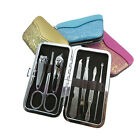 Portable 7 in 1 Pedicure / Manicure Nail  Clippers Cuticle Clippers Grooming Kit