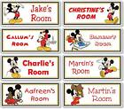 Mickey Mouse Personalised Kids' Bedroom Door Plaque / Sign *ANY NAME / MESSAGE*