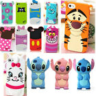 3D Cute Cartoon Animal Cute Silicone Soft Case Cover For iPhone 4/4S