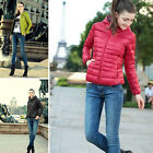 Fashion New Lady Hoodie Short Down Hooded Coat Thicken Winter Warm Parka Jacket