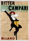 Vintage Campari  print poster, large 4 sizes available