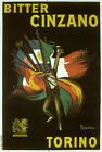 Vintage Bitter Cinzano print poster, large 4 sizes available