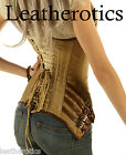 Genuine Leather corset STEEL BONED lacing Gothic Steampunk antique clothing top