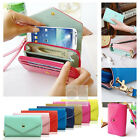 Crown Wristlet Leather Wallet Case For Samsung Galaxy S1/S2/S3/S4/S5/Active/Mini