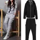 New Stylish Women's Sportswear Casual Sport Suits Hooded Outwear Sweatshirts