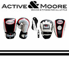 MORGAN MEN'S STARTER PACK BOXING GLOVES FOCUS PADS UFC MMA PT HOME GYM