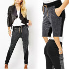 Women Hot Elastic Waist Fashion Casual Harmen Jogger Long Slim Loose New Pants