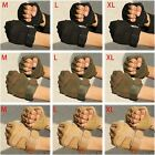 Tactical Half Finger Gloves Outdoor Sports Hunting Riding Gloves Fingerless Soft