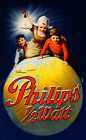 Vintage Philips print poster, large 4 sizes available
