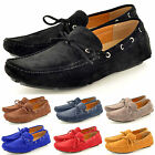 New Mens Casual Loafers Moccasins Slip on Shoes with lace detail in UK Size 5-11