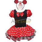 Halloween Kid Girls Dresses Minnie Mouse Party Fancy Tutu Dress Up Costume XMAS