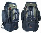 Camping Rucksack Backpack Hiking Festival Day Back Pack Bag GreenTravel 70L