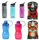 POLAR GEAR Bottles - Sports Squeeze Kids Water Lunch Colours Ice Sip - BPA FREE