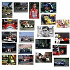Ayrton Senna - Formula One - A1/A2/A3 Poster Print Selection #3 - Choice of 20