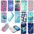 Card Holder Wallet Flip Leather Case Cover Shell Housing for Mobile Cell Phone