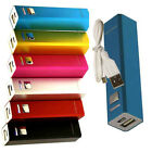 2600mAh USB Universal External Portable Power for iPhone Samsung HTC Cell Phone