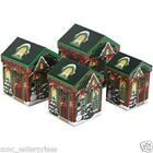 Christmas House Shaped Gift Boxes 4 Sizes to Choose 3 Varieties