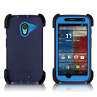OtterBox Moto X Defender Case & Holster Glacier Gray, Surf Blue, Lily Purple OEM on Rummage