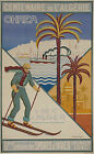 Vintage Algeria Travel Ad print poster-4 sizes available