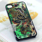Harry Potter Deathly Hallows Bling Hand Craft Paint Back Hard Skin Case Cover