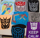 NEW Transformers Autobot Decepticon T Shirt Mens Retro Vintage Style TShirt Soft