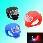 Free ship 2PCS Cycling Bike Bicycle Silicone Frog Head Front Light LED Lamp