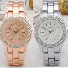Fashionable Stainless Steel Strap Analog Bracelet Wrist Watch (2 Color Options)