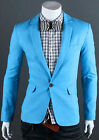 CHEAPEST Cool Mens Slim Fit Fashion One Button Casual Coat Jacket Blazer Suits