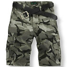 Fashion Shorts Cotton Pants Camouflage Trousers Men's Summer Casual Shorts R73