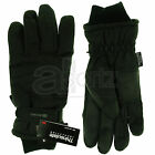 New BNWT Mens Youths Black Grey Waterproof Padded Ski Gloves Medium Large Extra